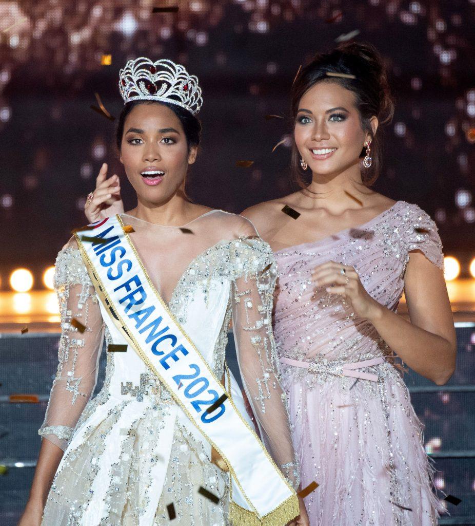 Miss Guadeloupe, Clémence Botino élue Miss France 2020 lors de la cérémonie d'élection au Dôme de Marseille.