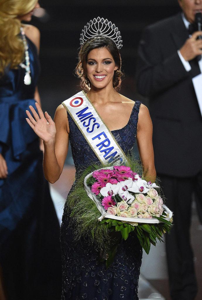 Miss Nord Pas de Calais, Iris Mittenaere élue Miss France 2016 lors de la cérémonie d'election au Zenith de Lille.