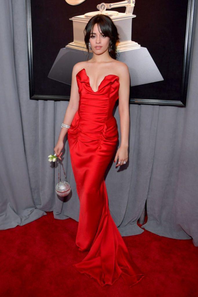 Camila Cabello lors de la 60ème cérémonie des Grammy Awards.