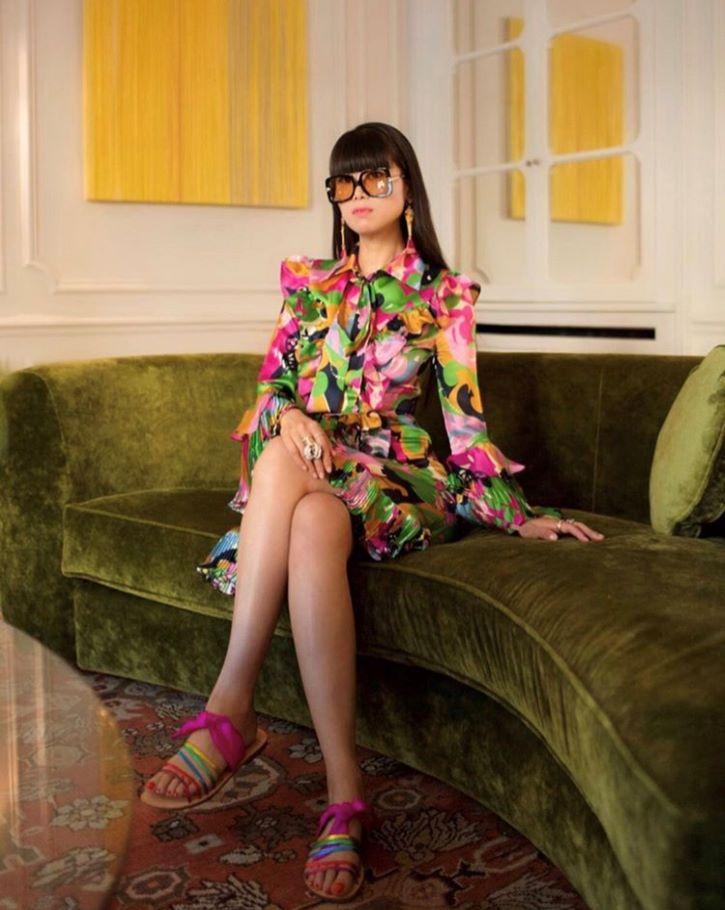 Leaf Greener, consultante artistique, écrivaine et fondatrice du magazine LEAF WeChat.