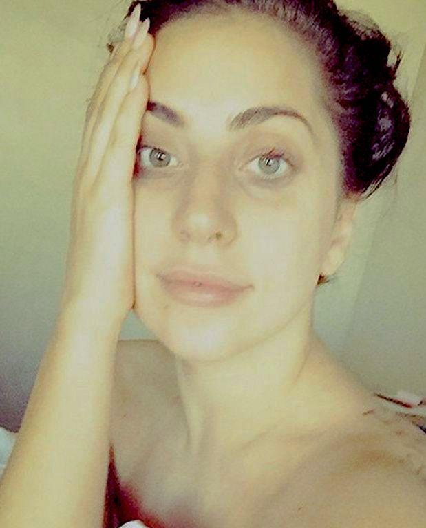 Lady Gaga sans maquillage avant/après