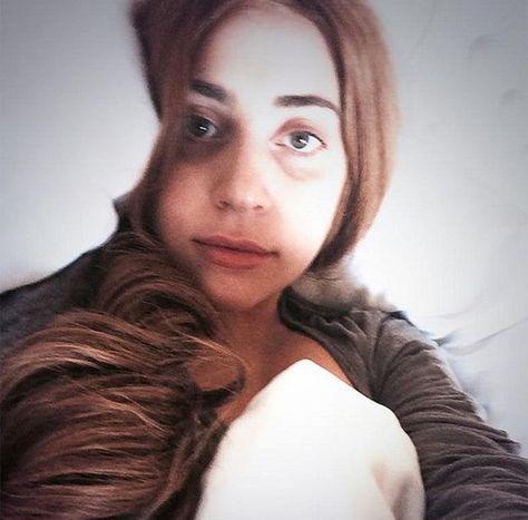 Lady Gaga sans make-up