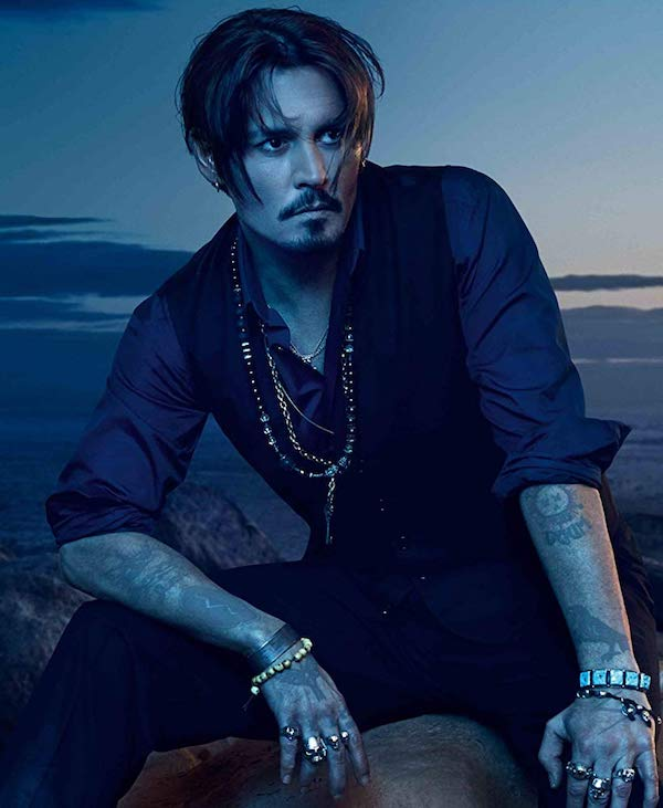 Johnny Depp pour la pub Dior Sauvage