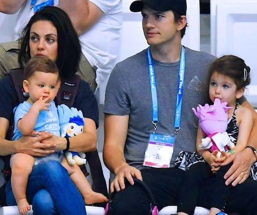 Dimitri Portwood Kutcher et ses parents