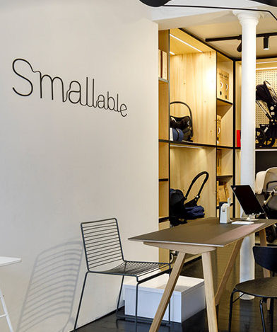 Smallable : Family Concept Store de Cécile Roededer et Pierre Rochand