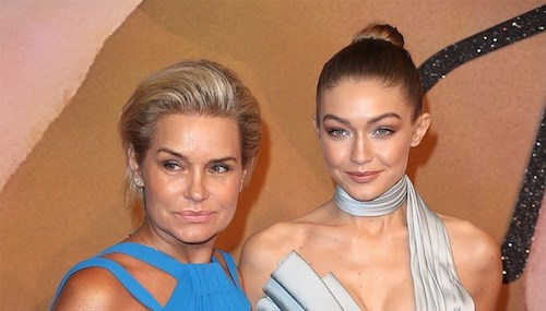 Yolanda Hadid a confirmée la grossesse de sa fille Gigi Hadid