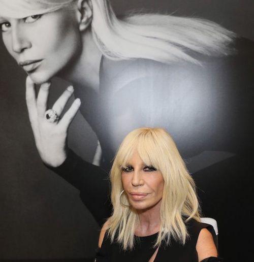 Donatella Versace jeune avant/après la chirurgie esthétique