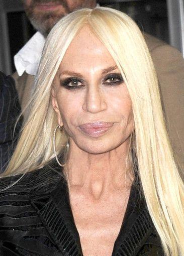 Donatella Versace après la chirurgie esthétique