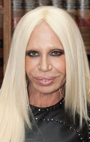 Donatella Versace après chirurgie