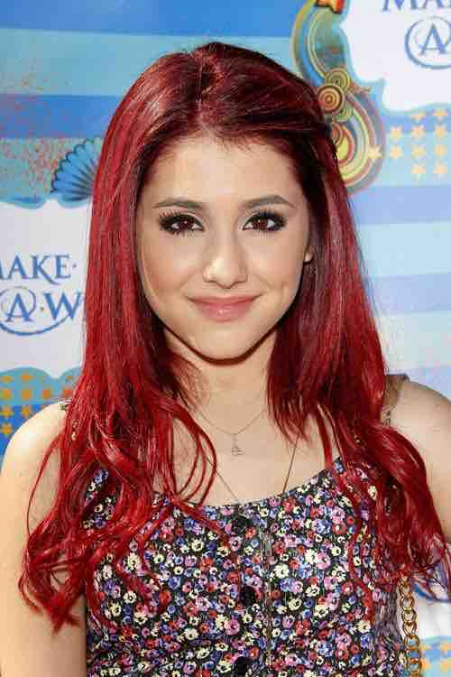 Ariana Grande avant chirurgie esthetique