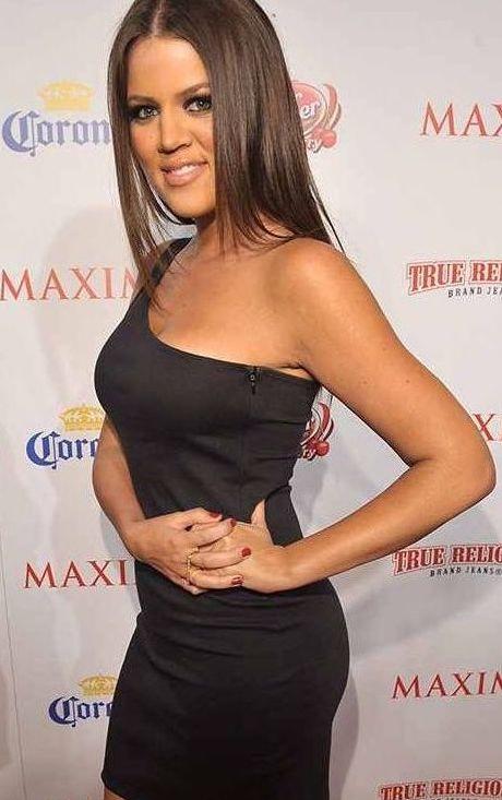 Fesses Khloé Kardashian avant prothèses
