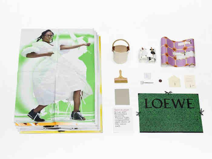 Invitation sauvage de Loewe Fashion Week  Printemps Été 2021