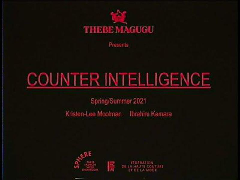 Film Thebe Magugu ss21