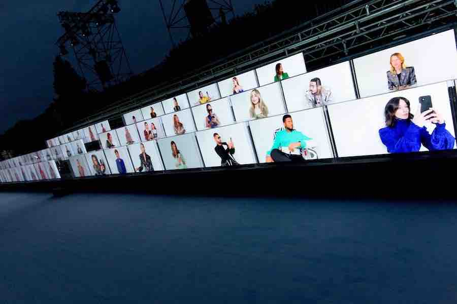 Invités Balmain défilé ss21 Fashion Week Paris