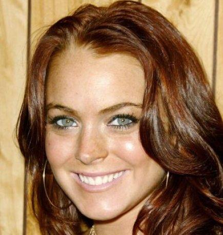 Lindsay Lohan avant chirurgie