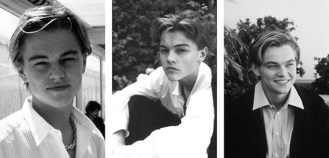 Leonardo DiCaprio jeune beau
